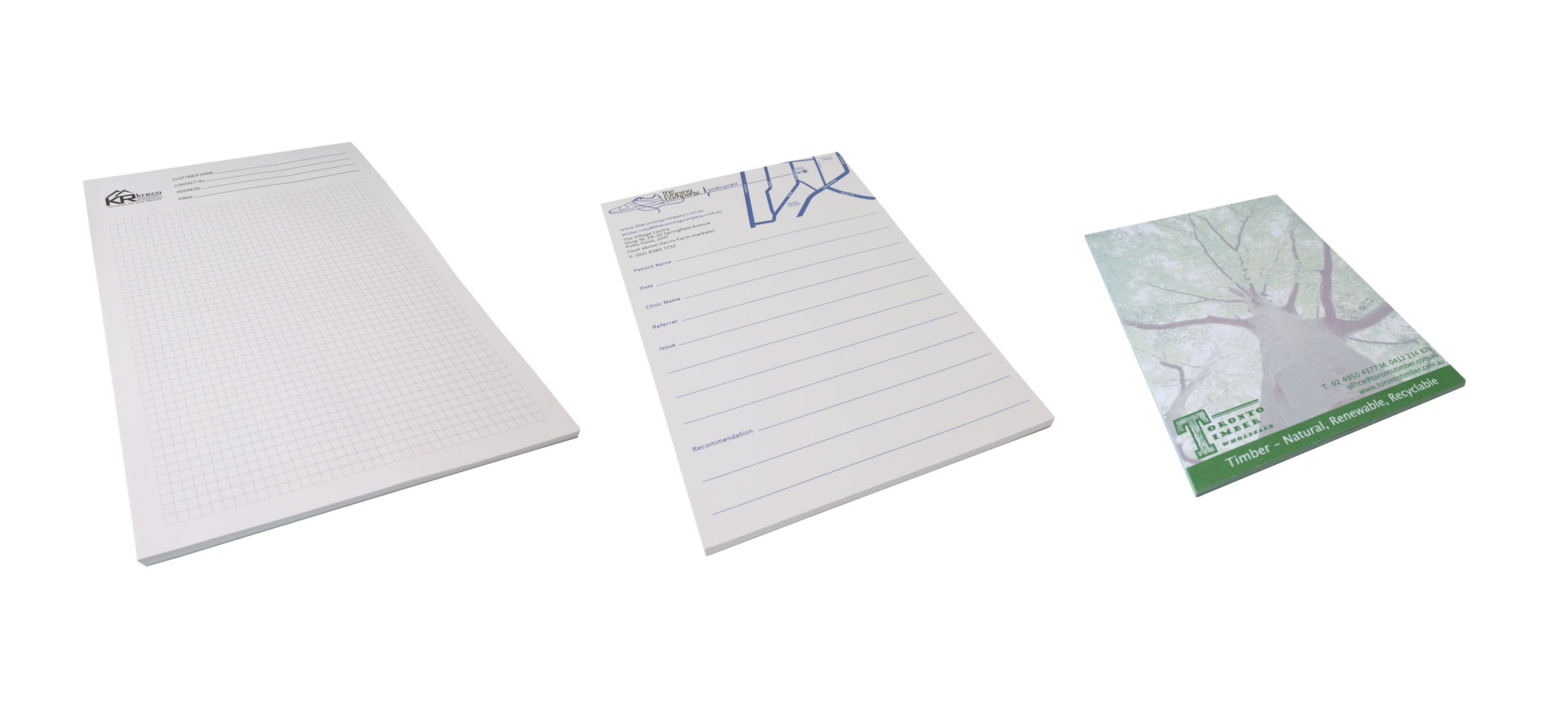 Leeds Pedova Writing Pad, Custom Printed Pedova Writing Pad. As low as ...