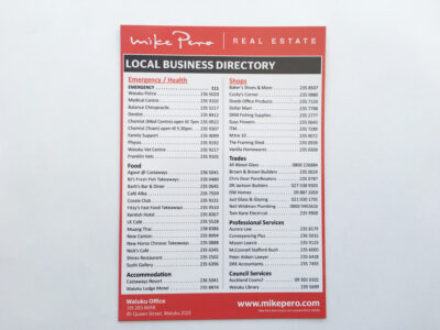 A5 Directory Magnet