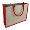 Jute Bag Red