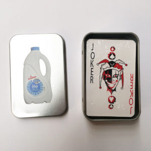 Playing Cards Tin Case